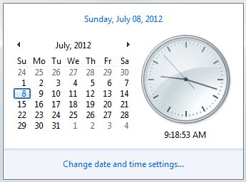 Windows Date And Time - Smarthomebeginner