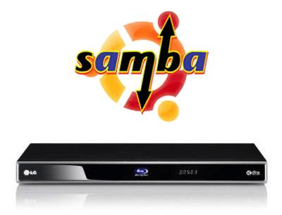 Bluray Samba Share - Smarthomebeginner