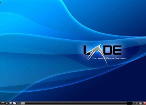 LXDE Core Desktop