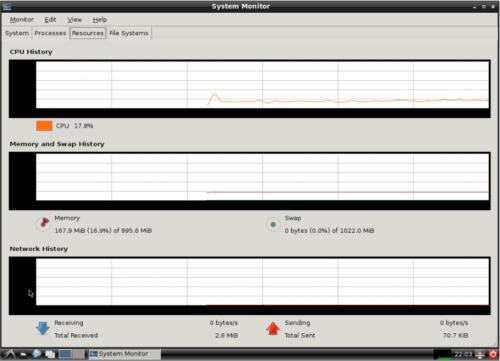 Minimal desktop environment for linux servers