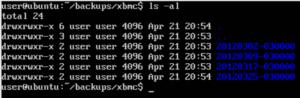 XBMC Backups