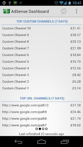 Adsense Dashboard - Screenshot 4