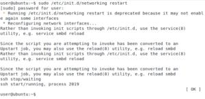 Precise Pangolin Networking Restart