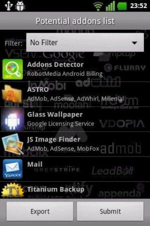 Addons Detector