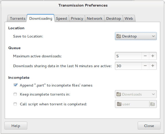 Install Transmission with web interface on Ubuntu