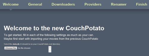 Configure CouchPotato
