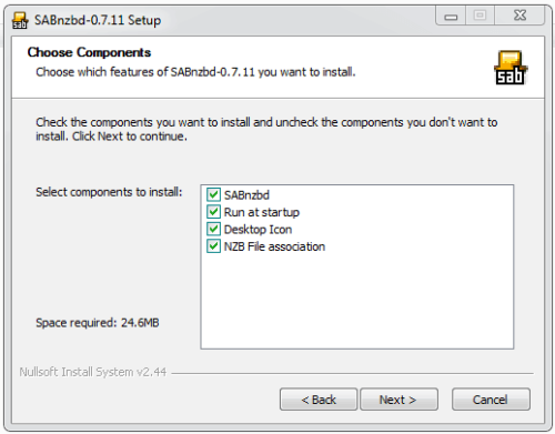 Install SABnzbd on Windows