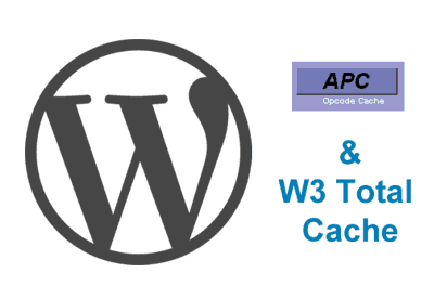WordPress with APC and W3 Total Cache ft