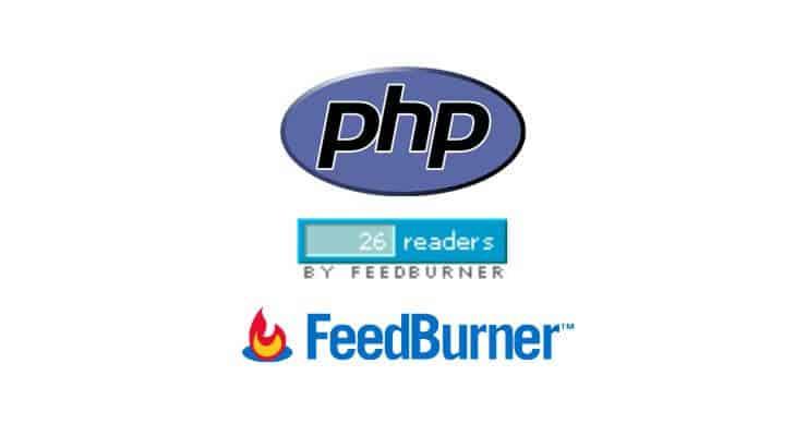 feedburner count php ft