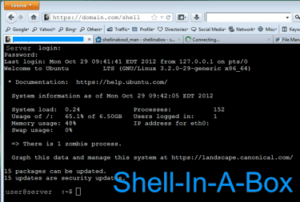 How to install Shellinabox on ubuntu?