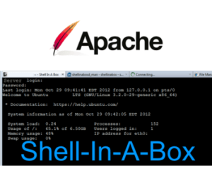 5 Easy steps to Increase Shellinabox Security