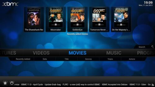 XBMC 12.3 Frodo Fixes
