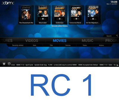 XBMC Frodo RC1 Featured