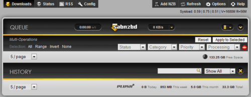Setup SABnzbd Ubuntu