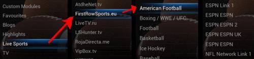 SportsDevil Listings