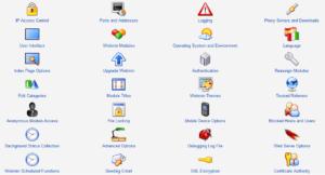 Webmin Configuration Options