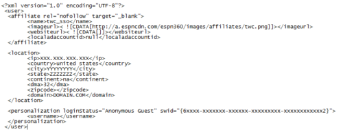 ESPN Addon userdata.xml for TWC