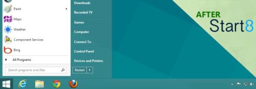 Stardock's Start8 Windows Start Menu