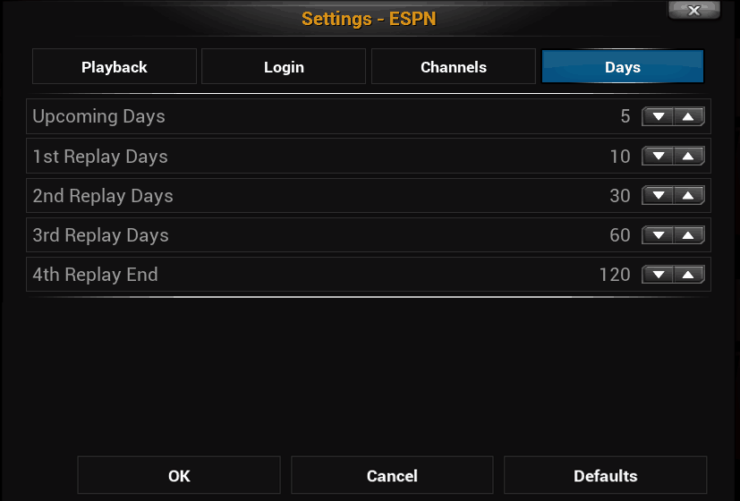 How to fix script failed error and make XBMC ESPN addon work?
