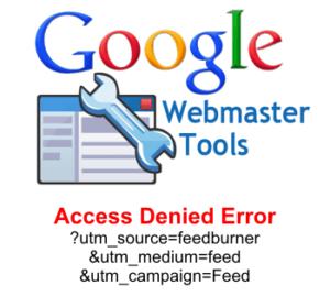Google webmaster tools access denied error fix