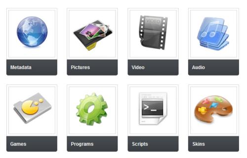 XBMC Addons Website