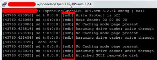 Determine SD Card Device Path