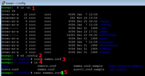 Configure OpenELEC SAMBA Server