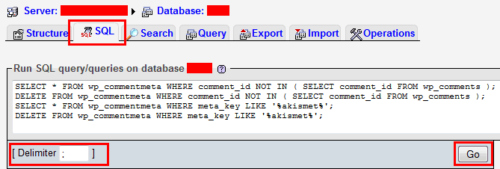 SQL Query for wp_commentmeta cleanup