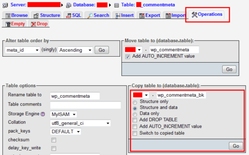 Clean wp_commentmeta Table