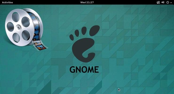lightweight minimal gnome desktop video ft