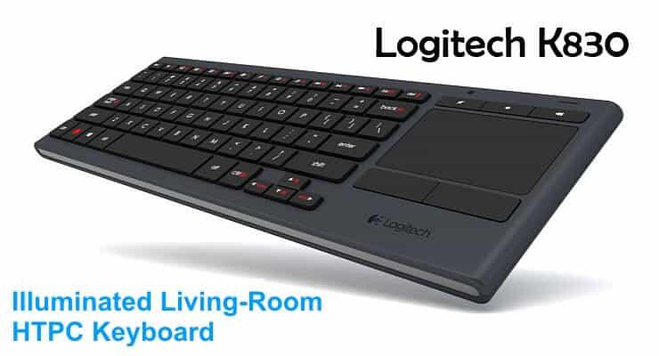 Logitech K830 Ft 1 - Smarthomebeginner