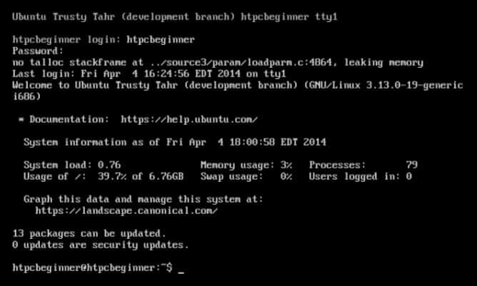 Install GUI on Ubuntu server 14 04 Trusty Tahr