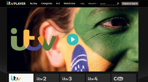 ITV Player on Now TV