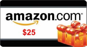 Giveaway: $25 Amazon.com gift card for YouTube subscribers