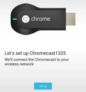 Setup Chromecast on Android