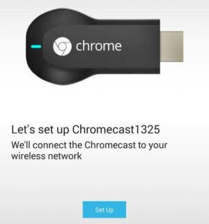 Setup Chromecast On Android
