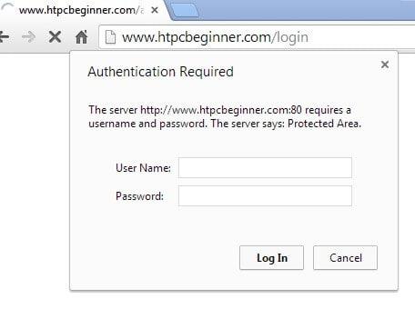 HTTP Authentication