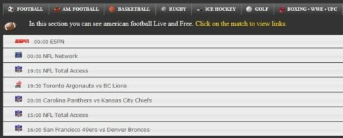 ifirstrowus - Watch Sports Online for Free