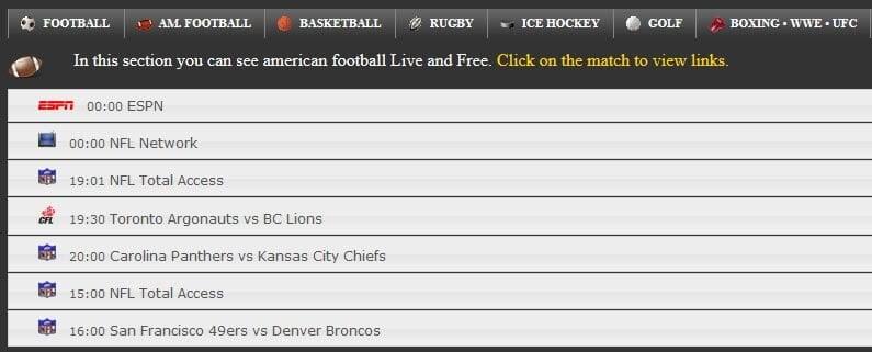 free football sites