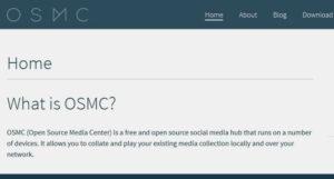 OSMC - Open Source Media Center