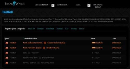 stream2watch - NCAA Football Online Streaming