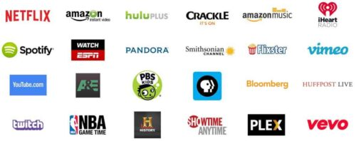 Amazon Fire TV Streaming Options