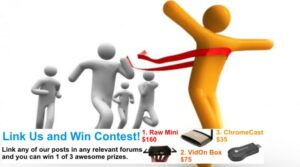 Link Us and Win – Holidays Contest