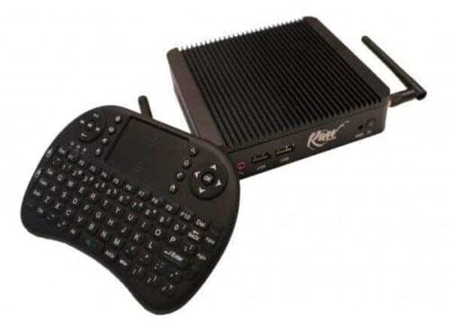 Raw Mini XBMC PC with Remote