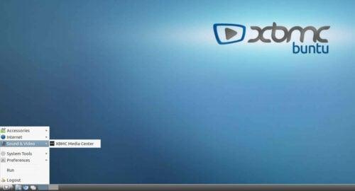 XBMCbuntu Desktop