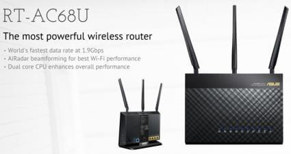 Asus Wireless N and AC router automatic reboot setup