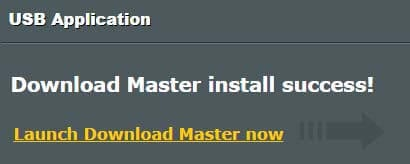 Install Download Master ASUS Router