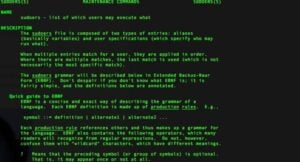 The manpage for the Sudoers File is a resource to look at when modifying the Sudoers file