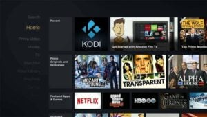 Kodi Shortcut on Fire TV Home Screen