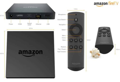 Amazon Fire TV - Best Android Media Players 2015